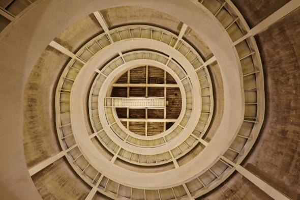 5 spiral stair silo